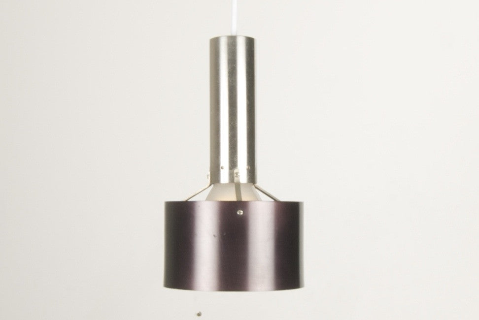 Chrome / metallic brown ceiling pendant