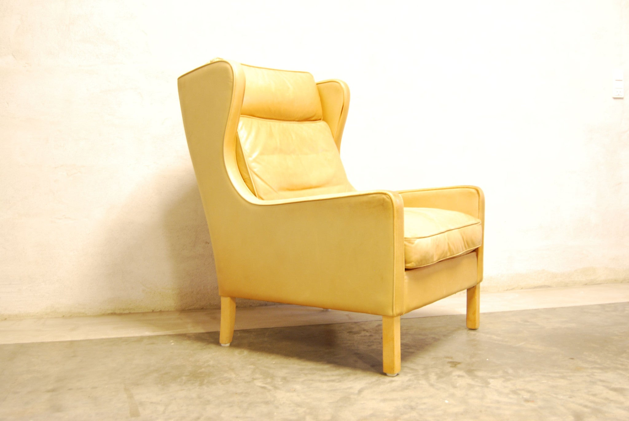 Wingback lounge chair by Thams