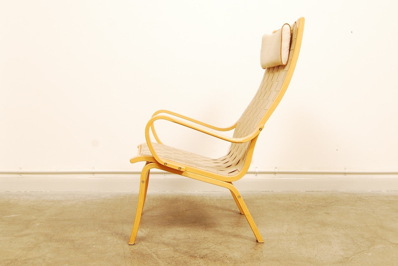 Beech ply lounge chair