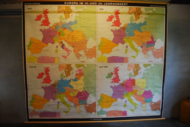 Chase & Sorensen Huge map of Europe