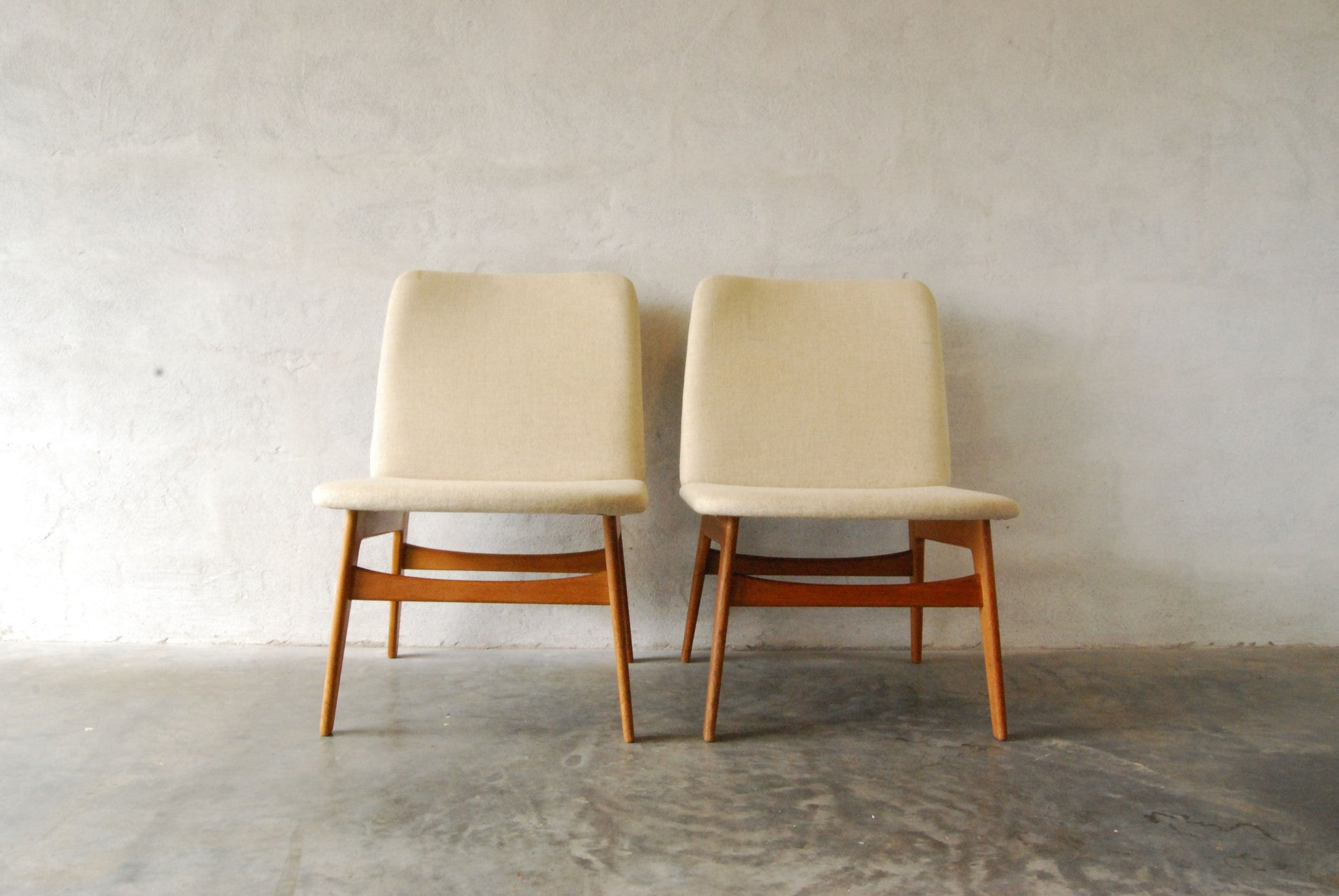 Chase & Sorensen Pair of occasional chairs by Børge Mogensen