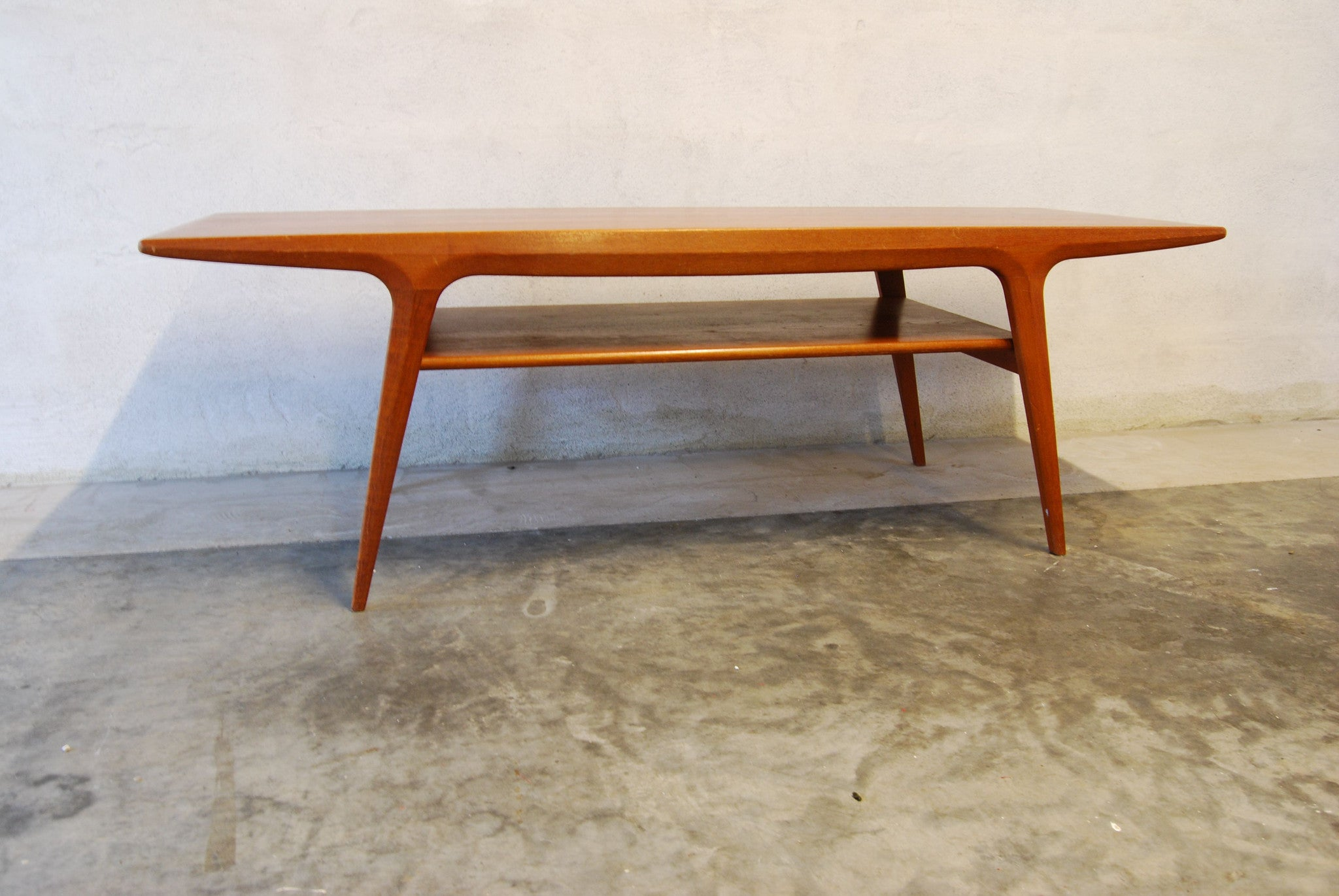 Chase & Sorensen Two-tiered coffee table in teak