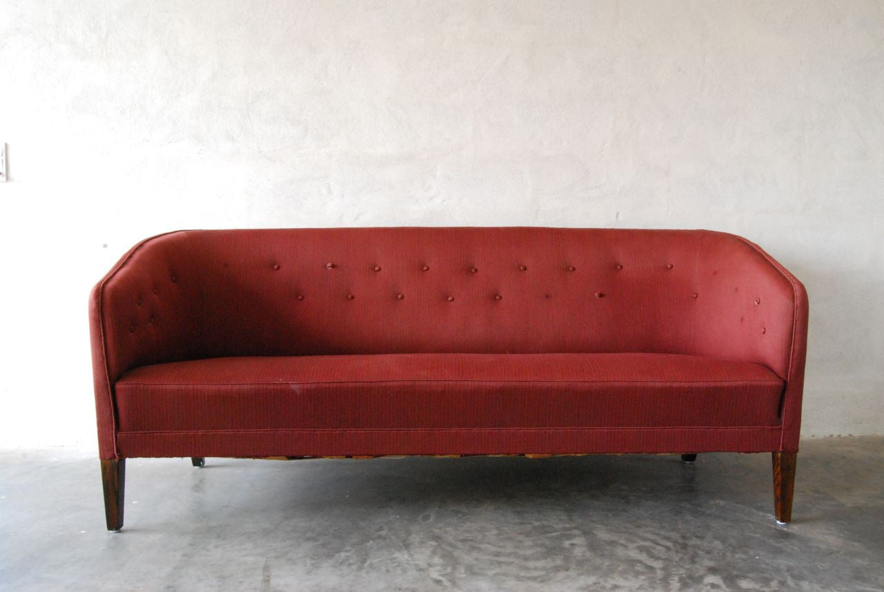 Three seat sofa by Ludvig Pontoppidan