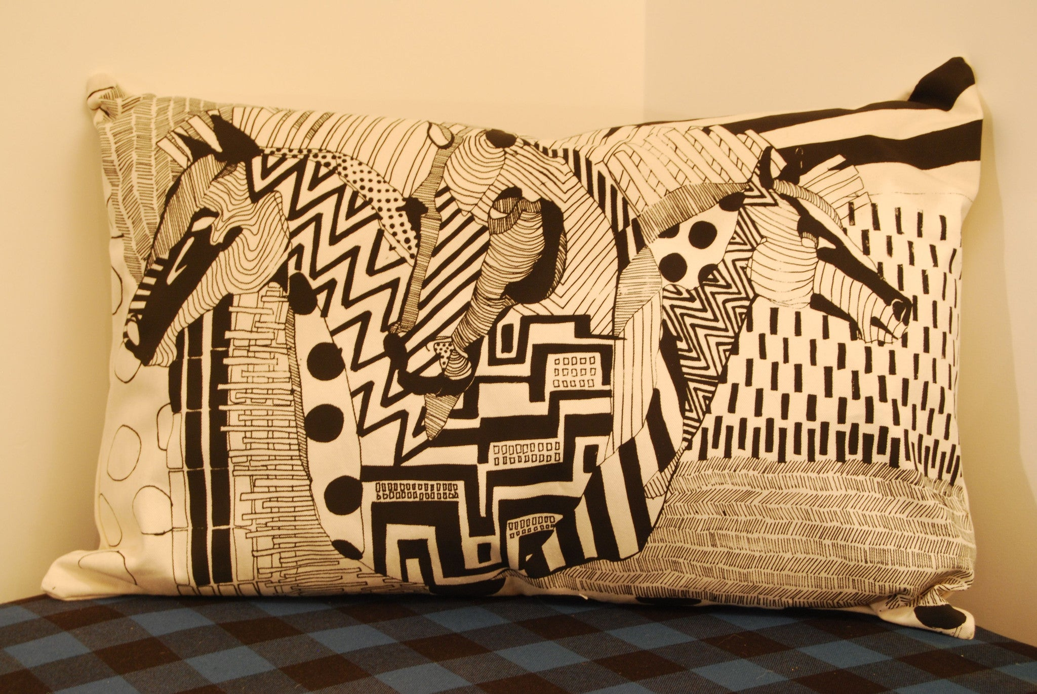 Chase & Sorensen Cushions by Sager Forsberg