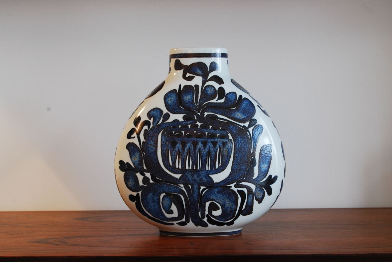 Fajance vase by Royal Copenhagen