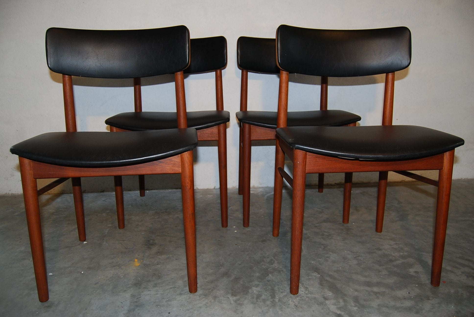 Chase & Sorensen Set of Four Dining Chairs