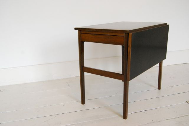 Sewing table in rosewood