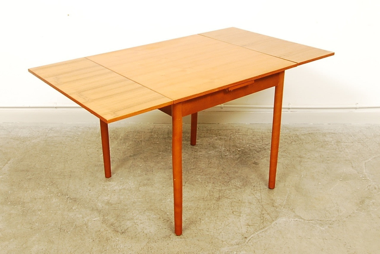 Small square dining table