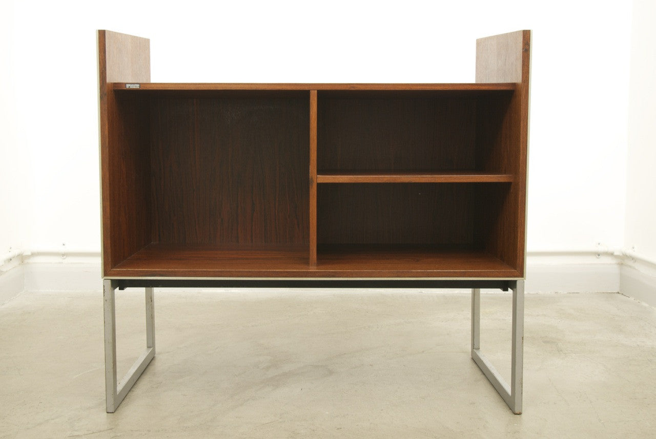 Record cabinet in rosewood by B & O