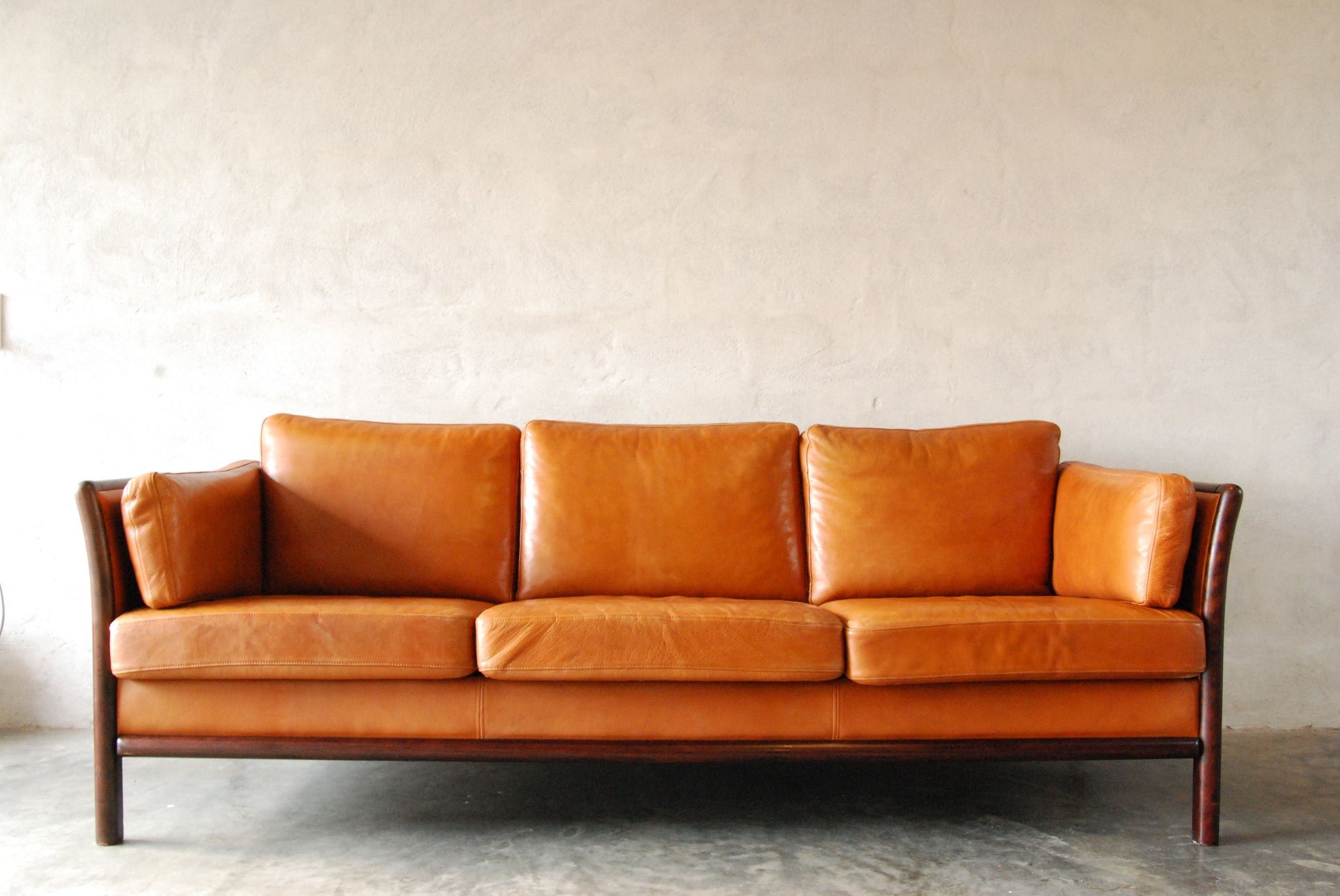Chase & Sorensen Three seat sofa by Mogens Hansen
