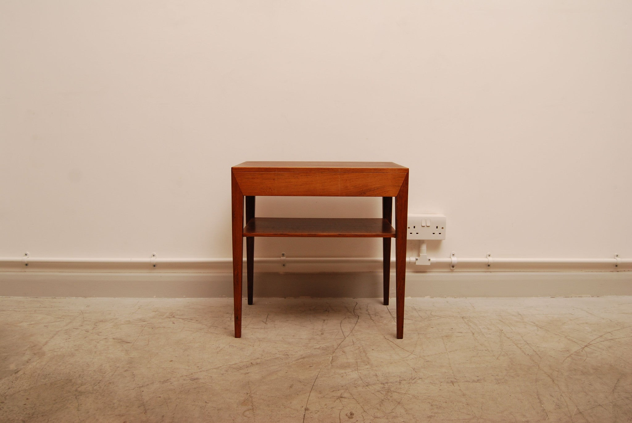 Single bedside table by Severin Hansen