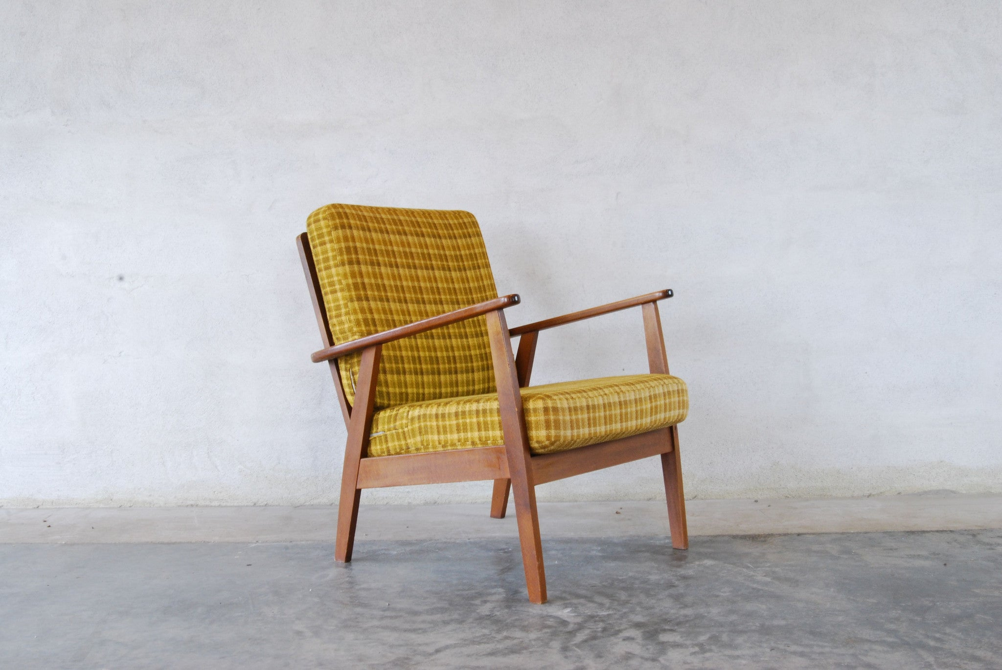 Chase & Sorensen Teak/beech framed lounge chair no. 2