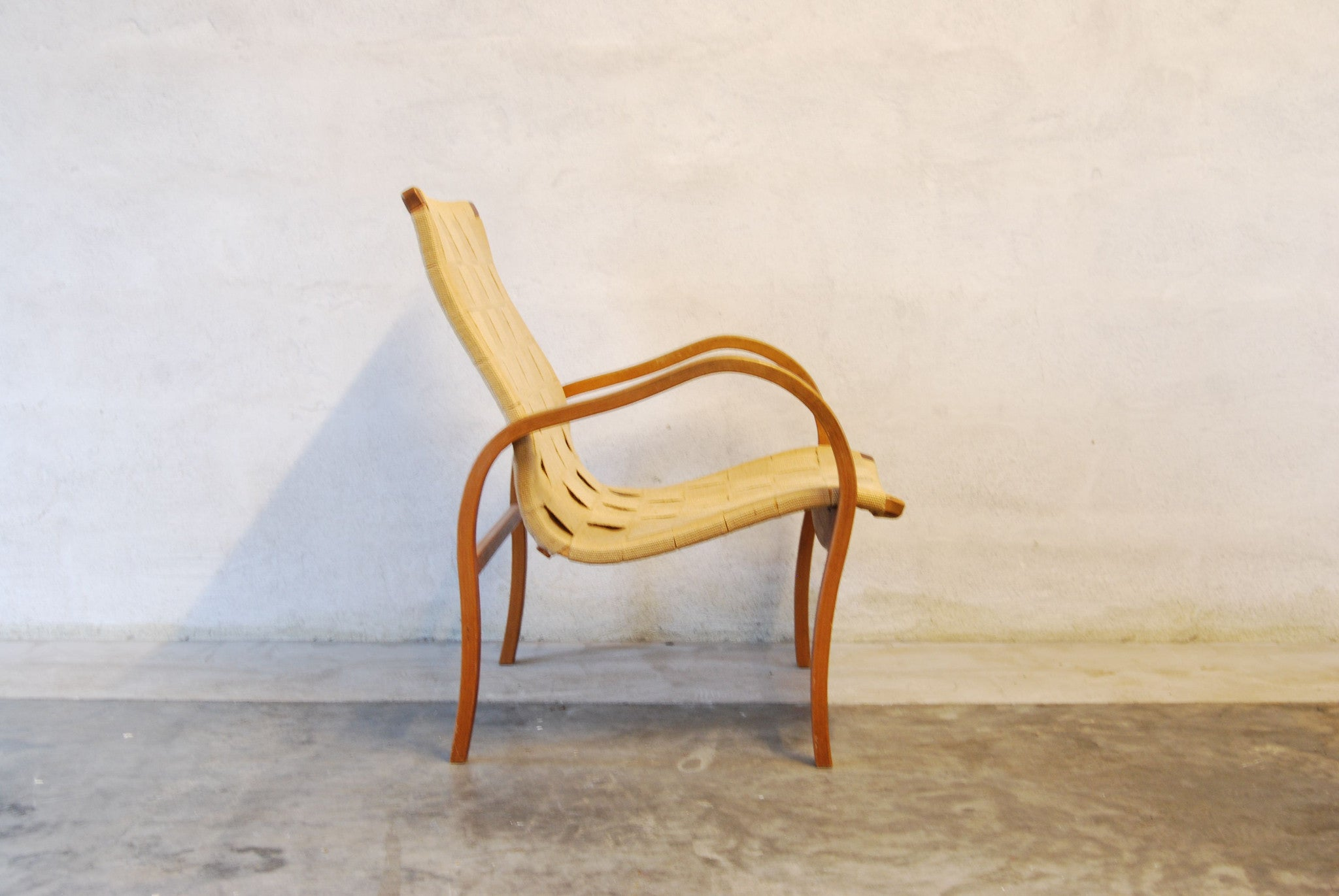 Occasional chair in the style of Bruno Mathsson