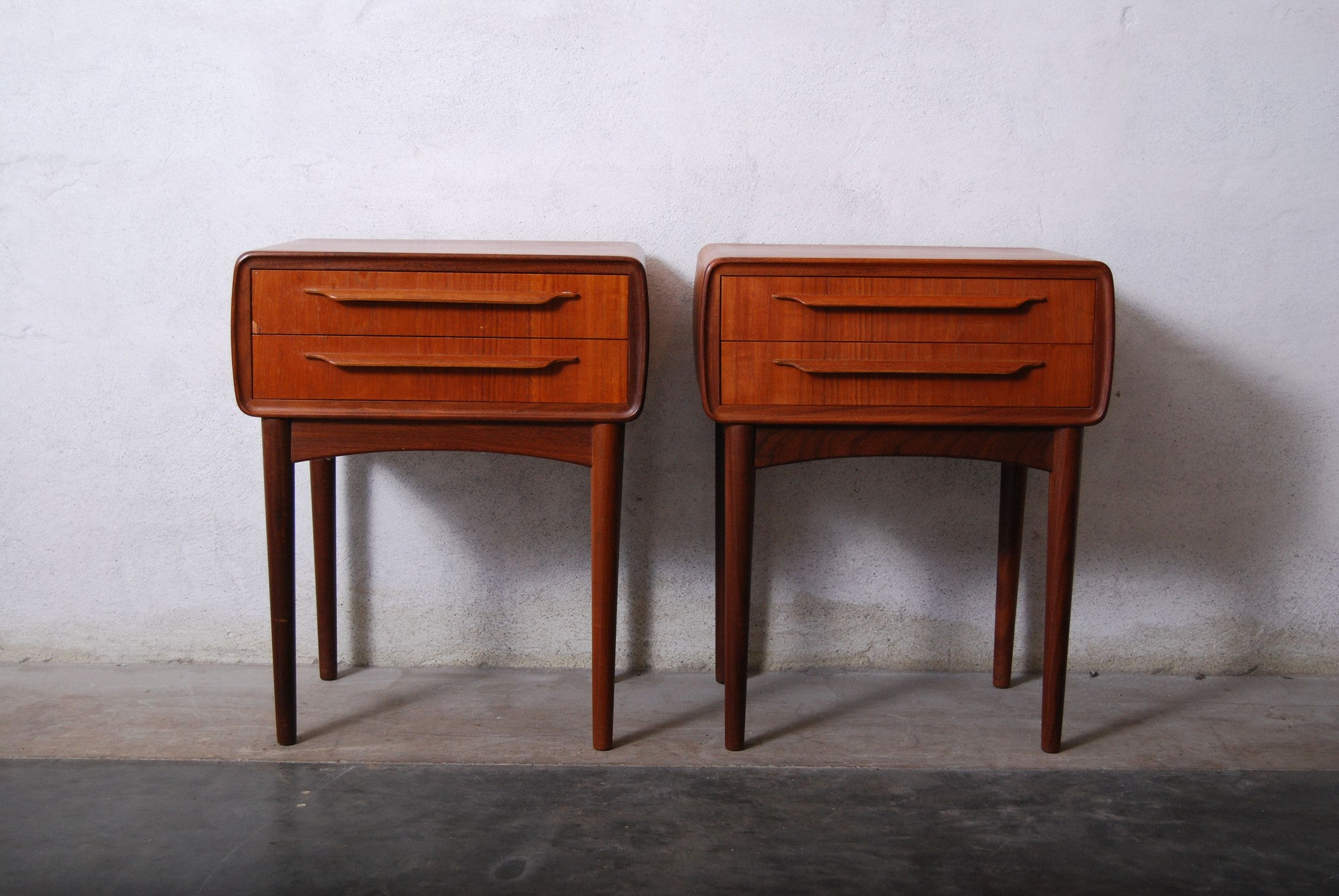 Pair of bedside tables by Johannes Andersen