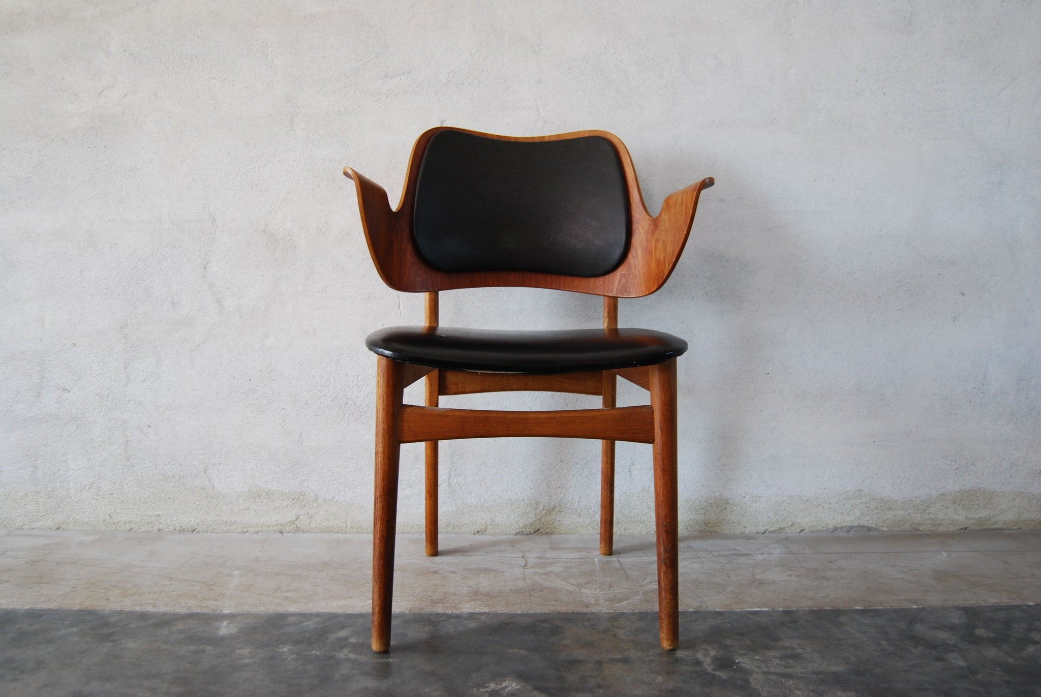 Desk/dining chair by Hans Olsen