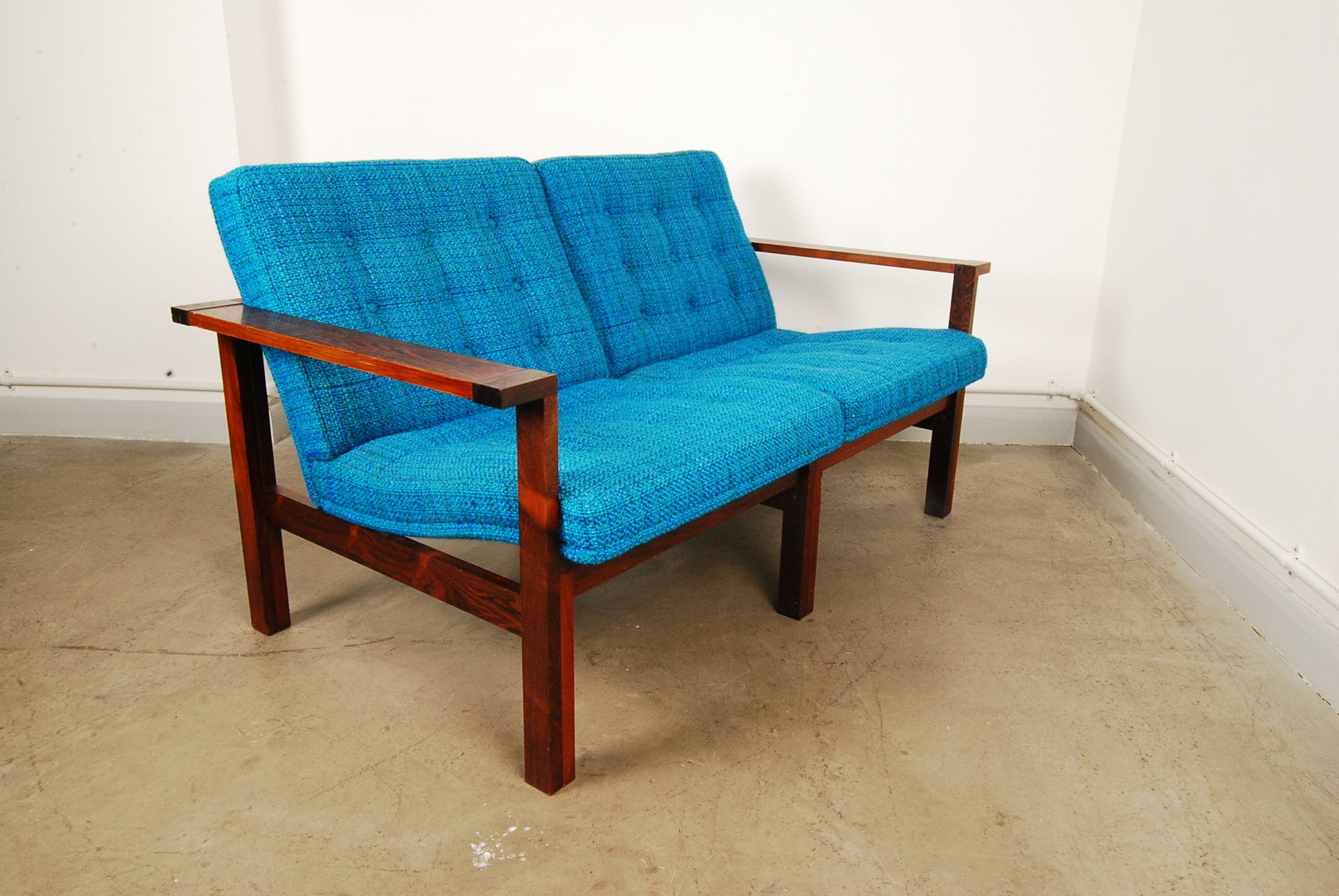 Two seat sofa by Ole GjerlÌüv-Knudsen