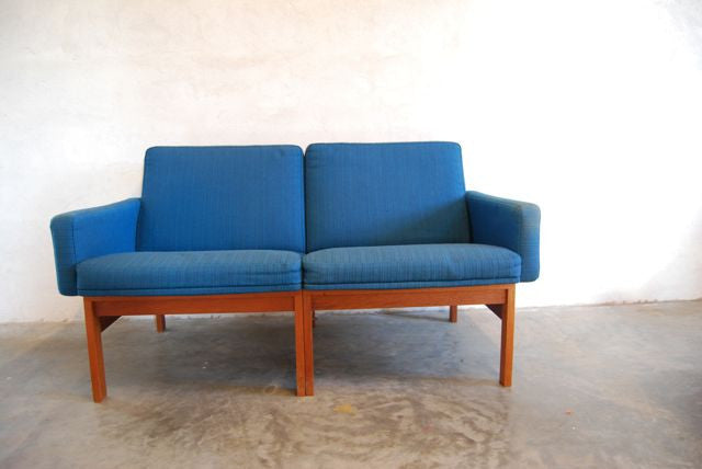 Modular two-seater sofa