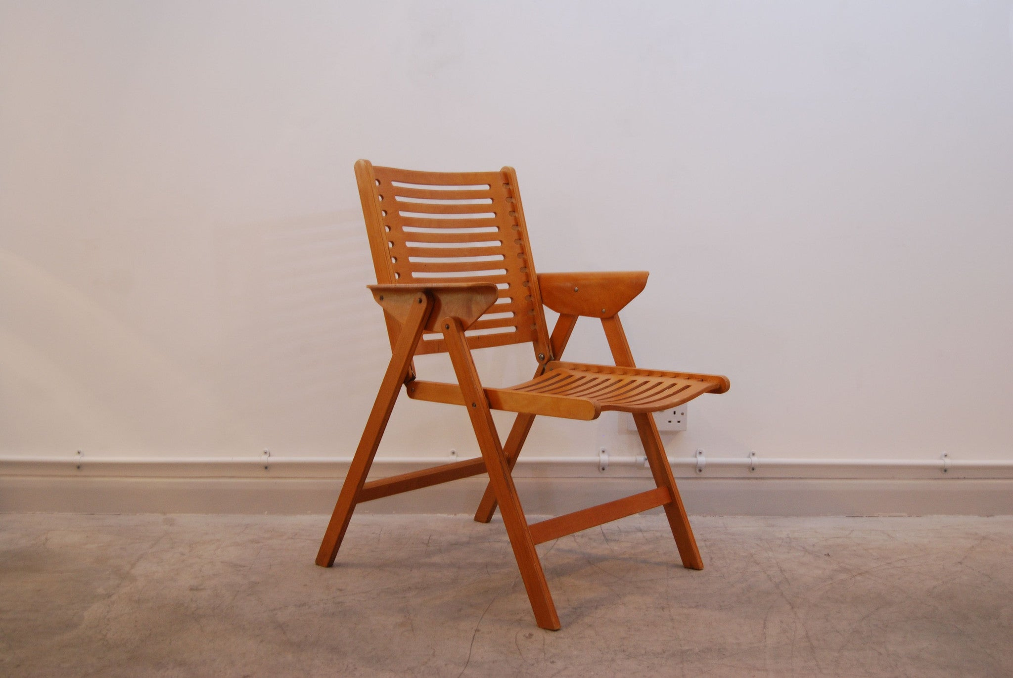 Chase & Sorensen Folding chair by Niko Kralj