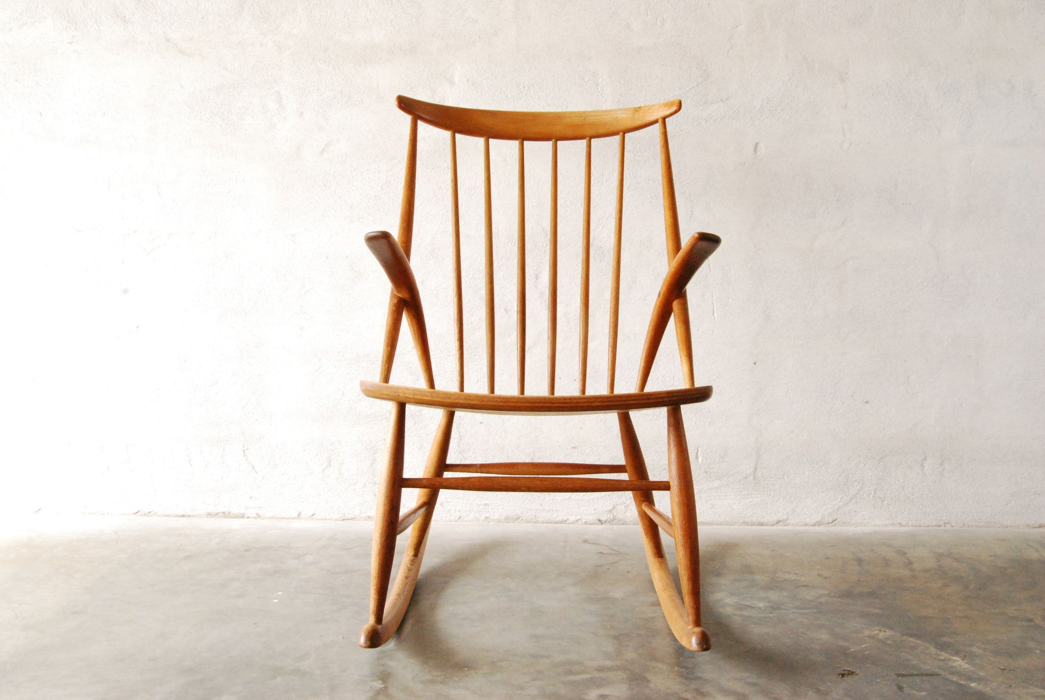 Rocking chair by Illum Wikkelsø