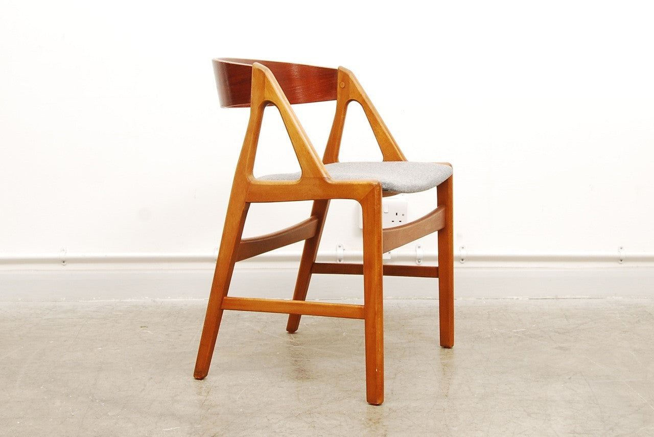 Set of four dining chairs by Henning Kj?Òrnulf
