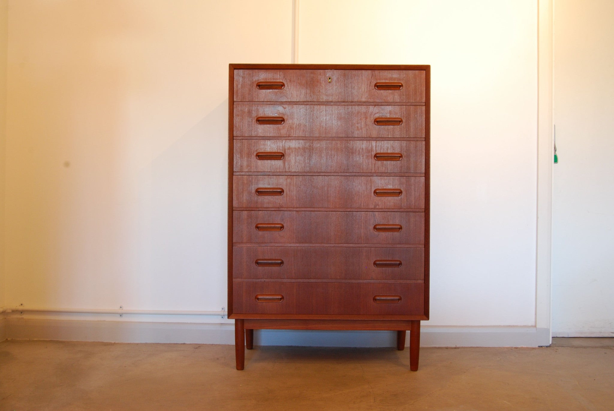 Chase & Sorensen Chest of drawers in teak