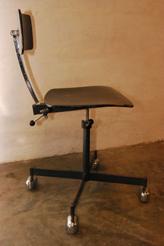 Pair of Adjustable Kevi Chairs/Stools