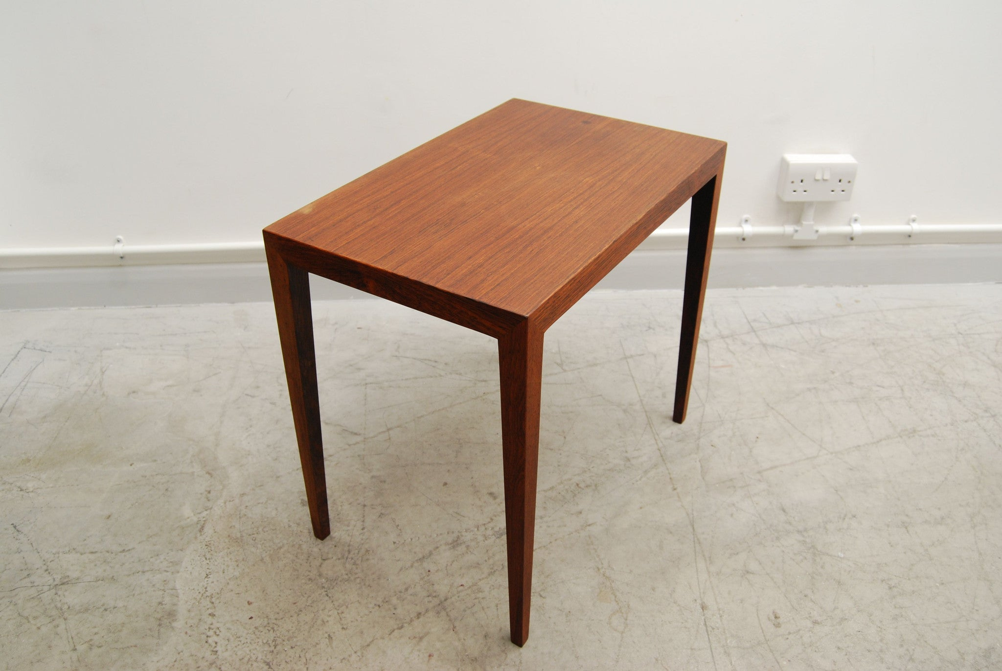 Rosewood side table by Severin Hansen