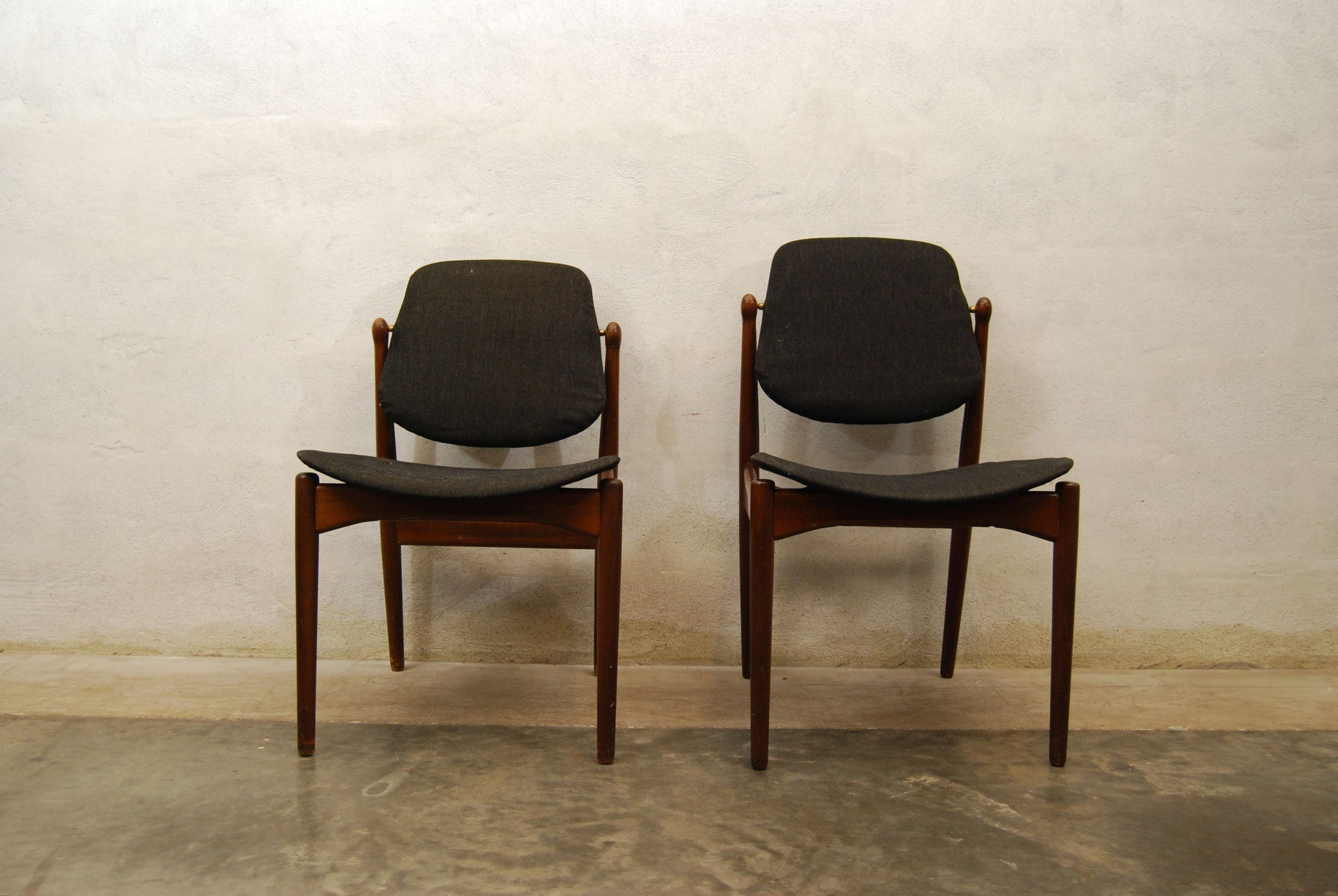Pair of occasional chairs by Arne Vodder