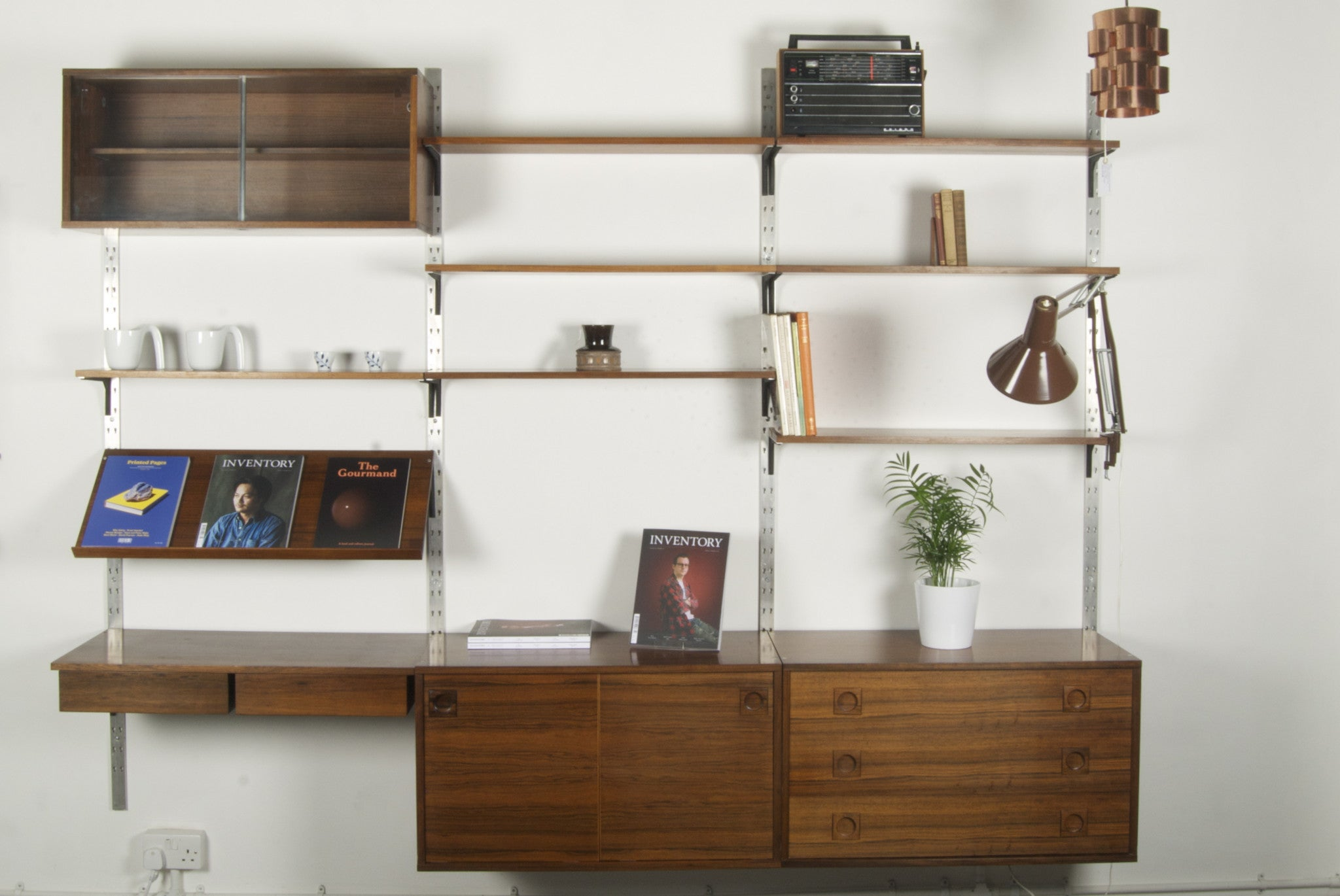 Modular shelving by Albert Hansen