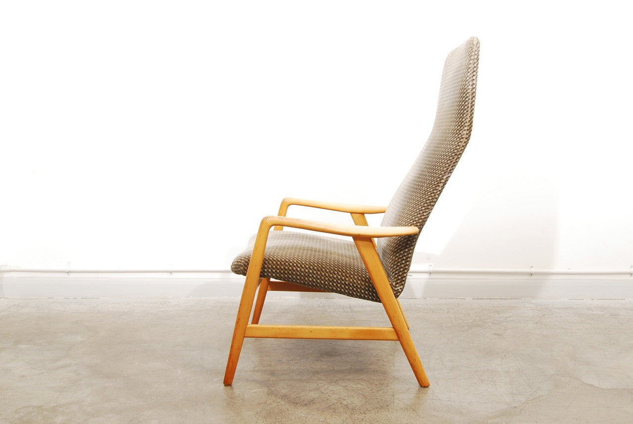 Reclining Kontour chair by Alf Svensson