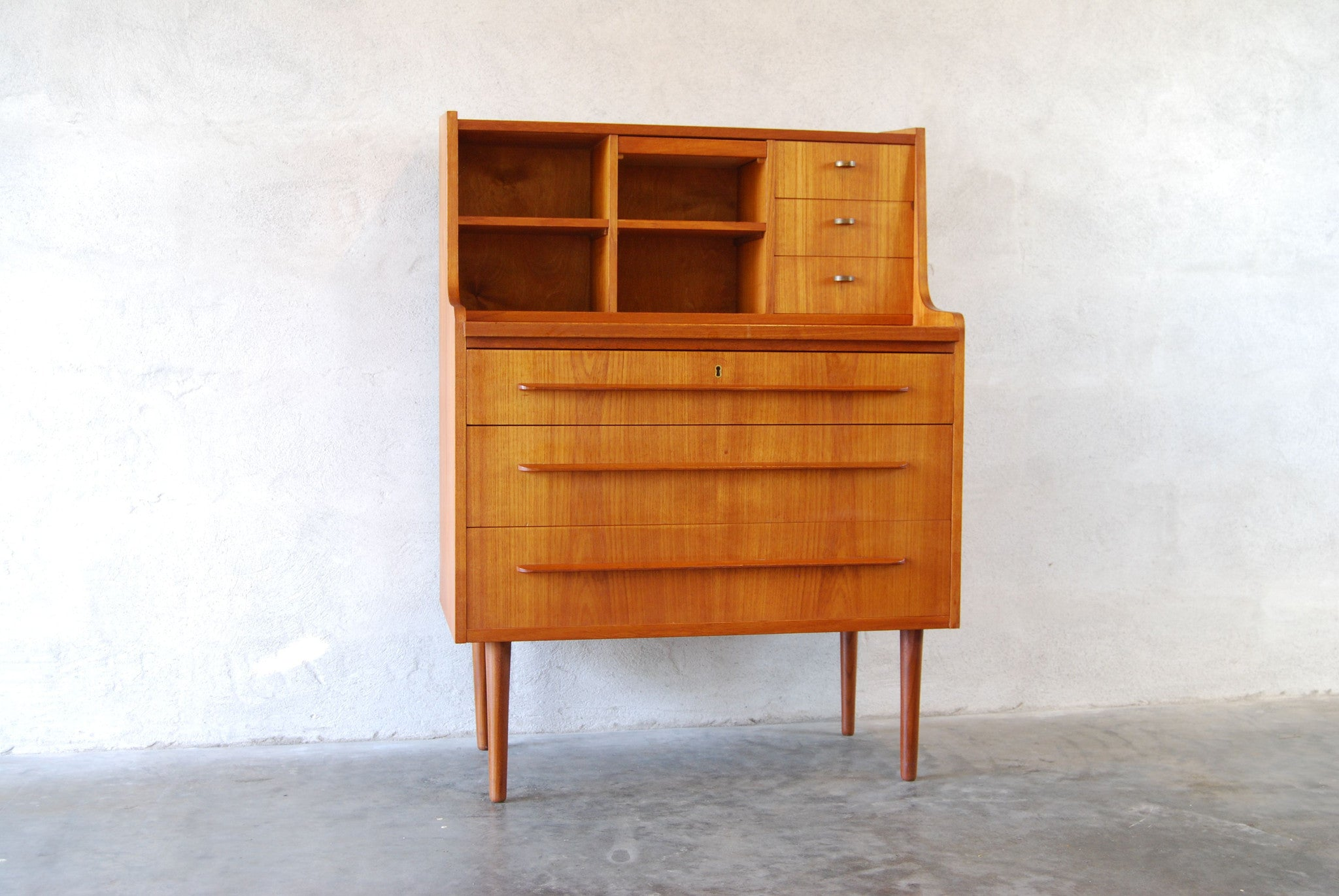 Chase & Sorensen Vanity unit / dressing table in teak