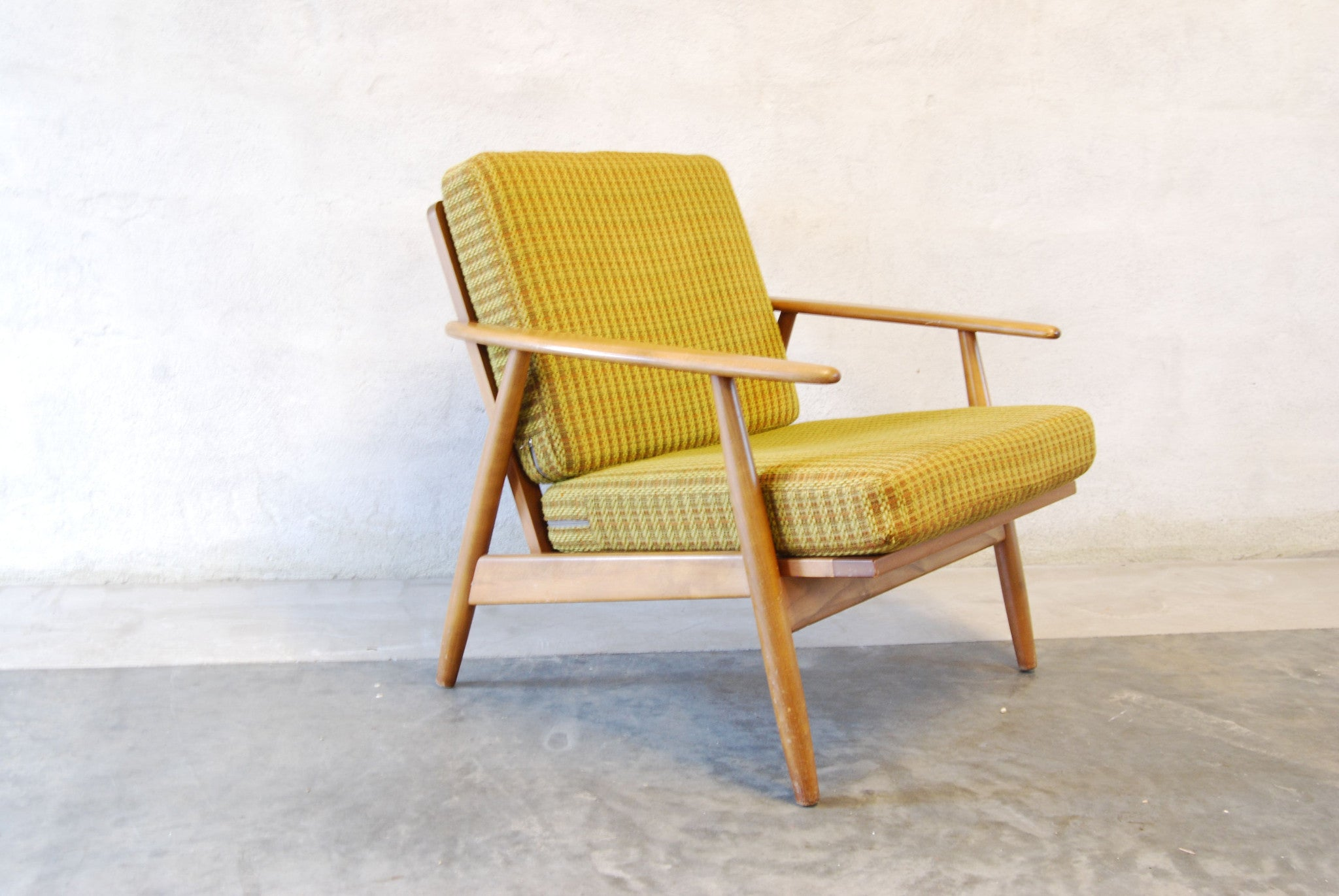 Chase & Sorensen Lounge chair in beech