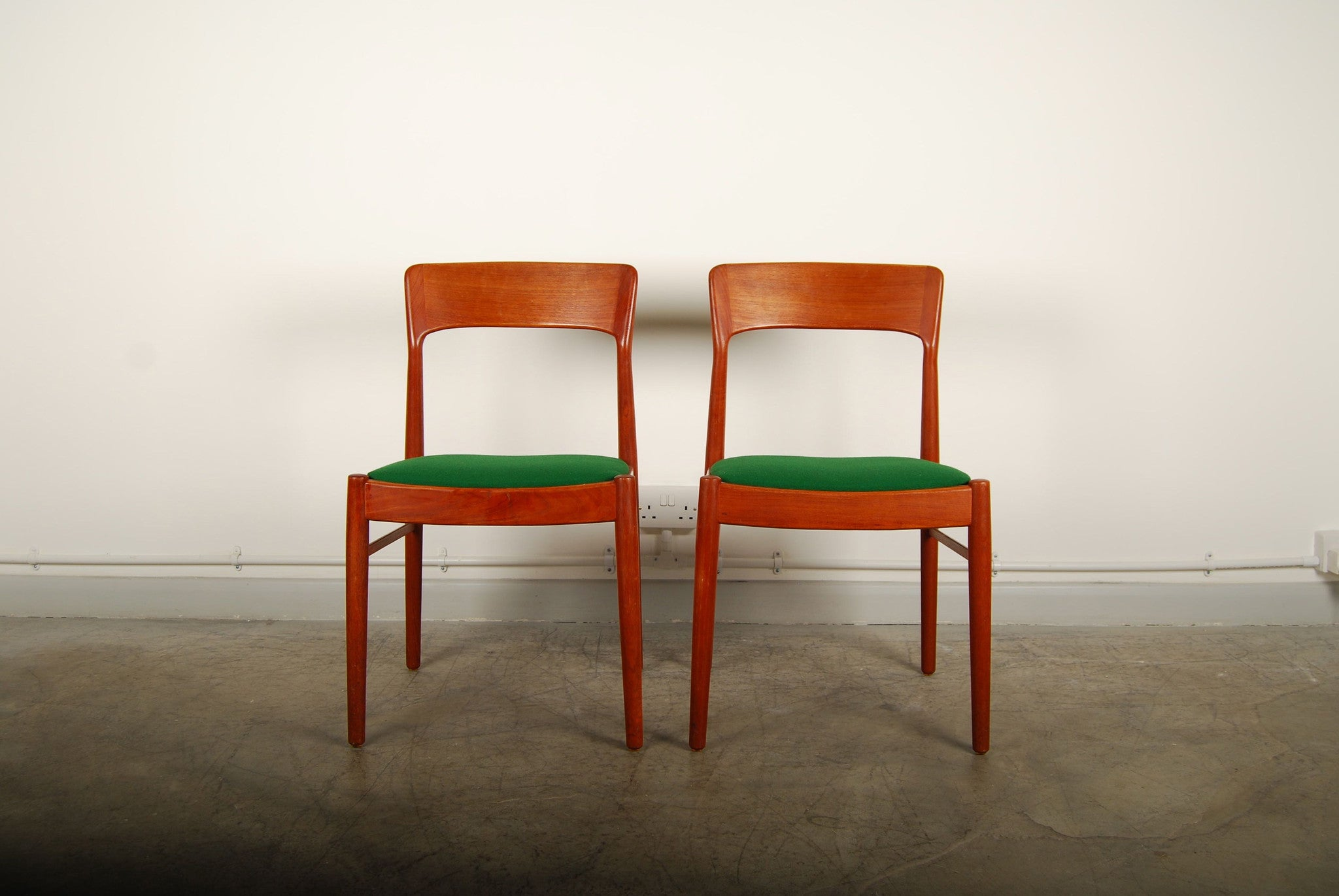 Pair of dining chairs by KS MÌübler