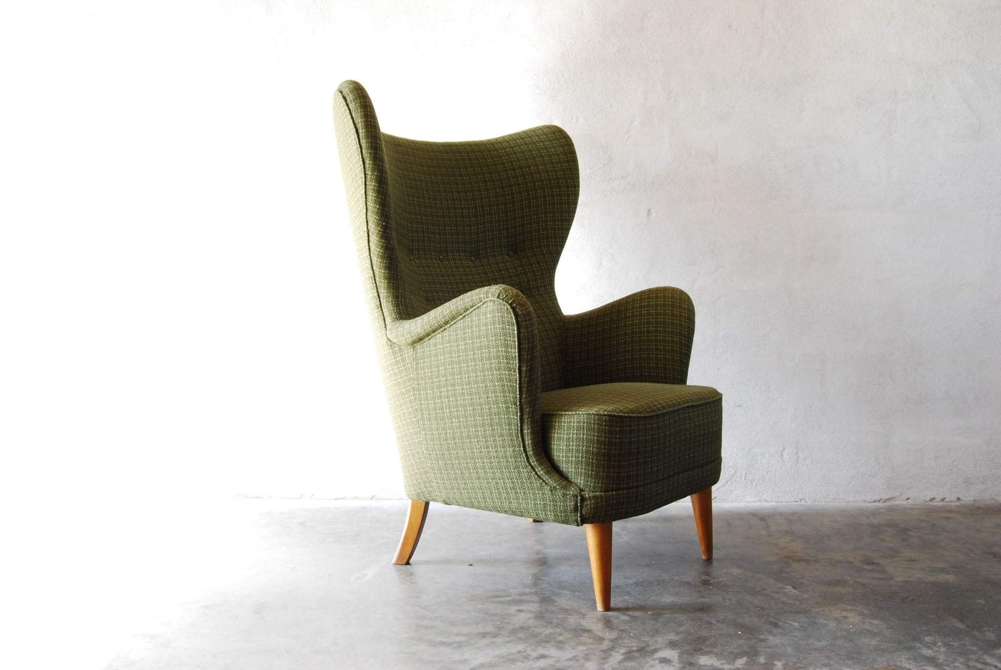 Wingback lounge chair by Anders Georg Svendsen