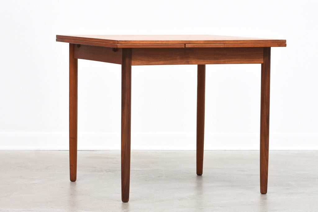 1960s extending kitchen table in teak