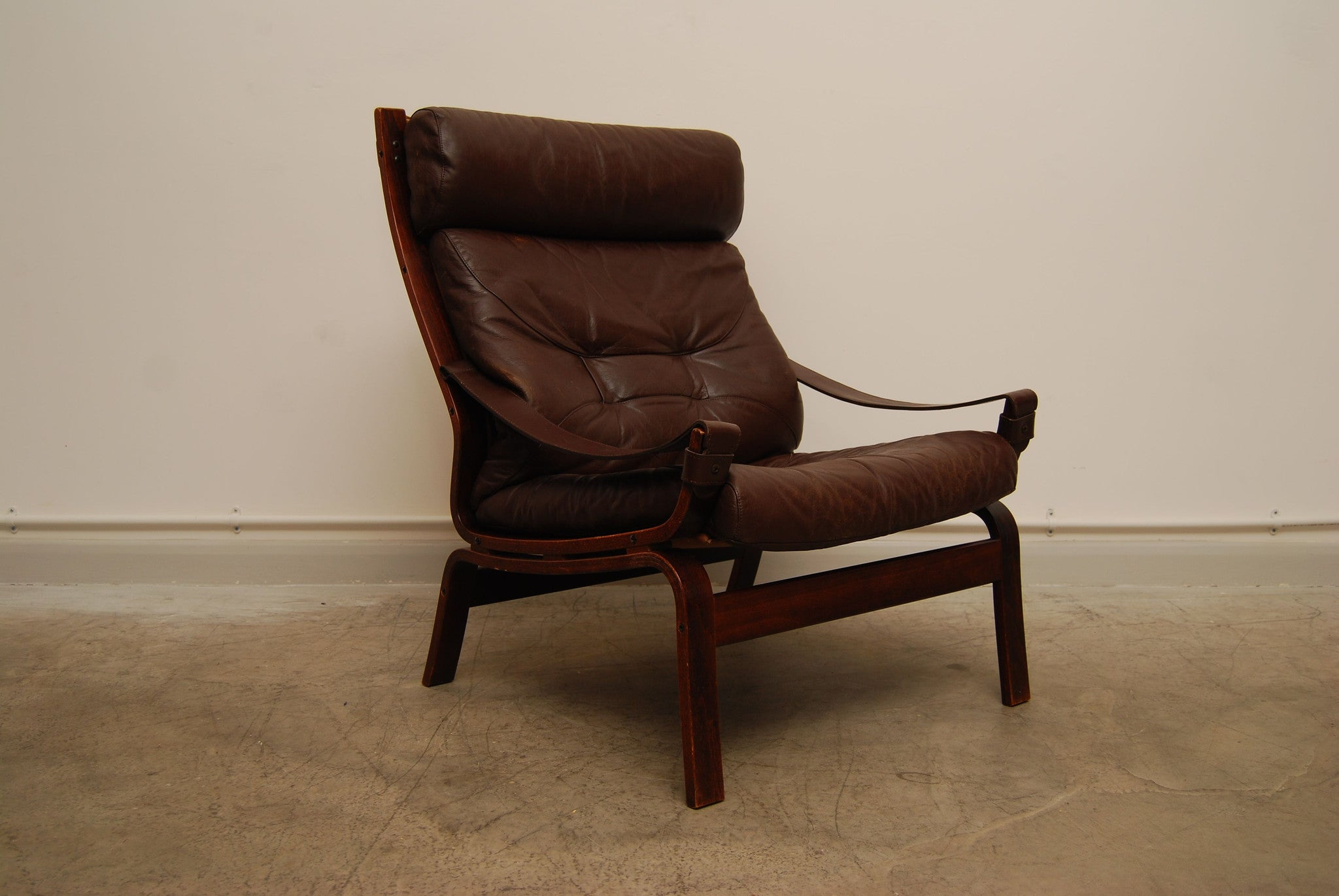 Chase & Sorensen Norwegian highback lounge chair