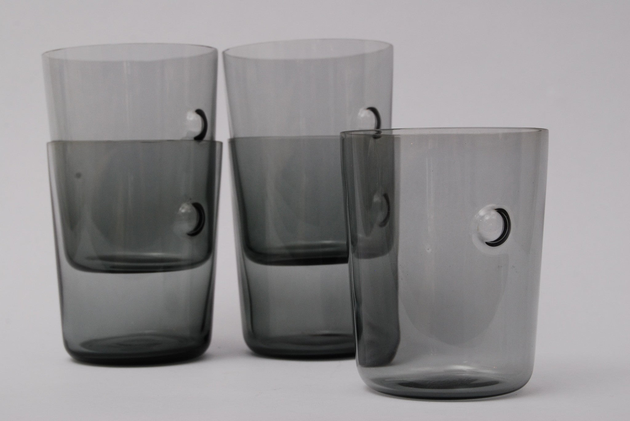 Minima water glasses by Holmegaard