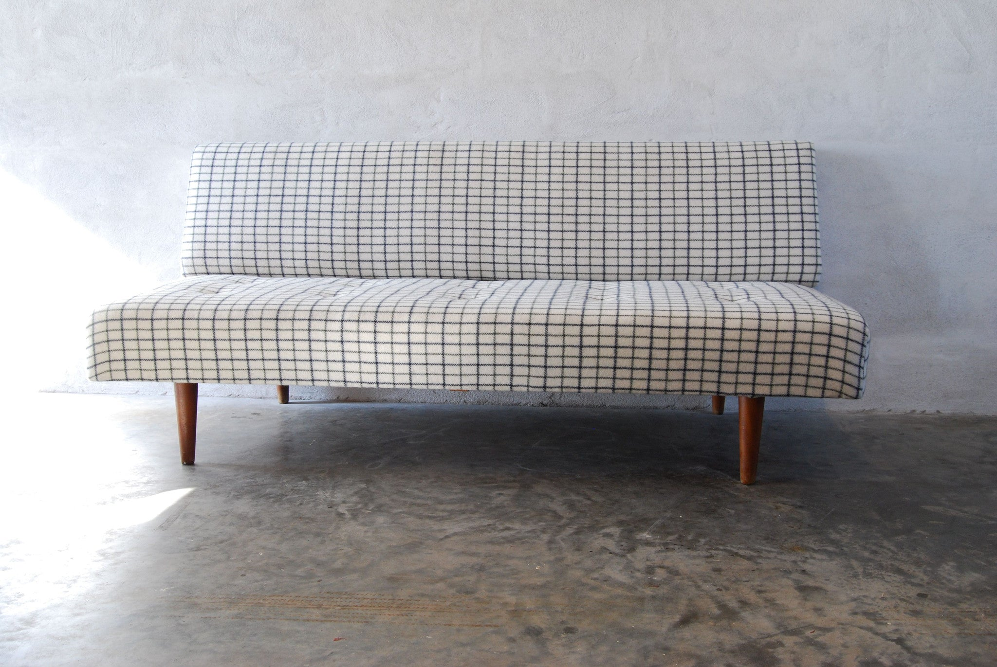 Chase & Sorensen Daybed in striped wool