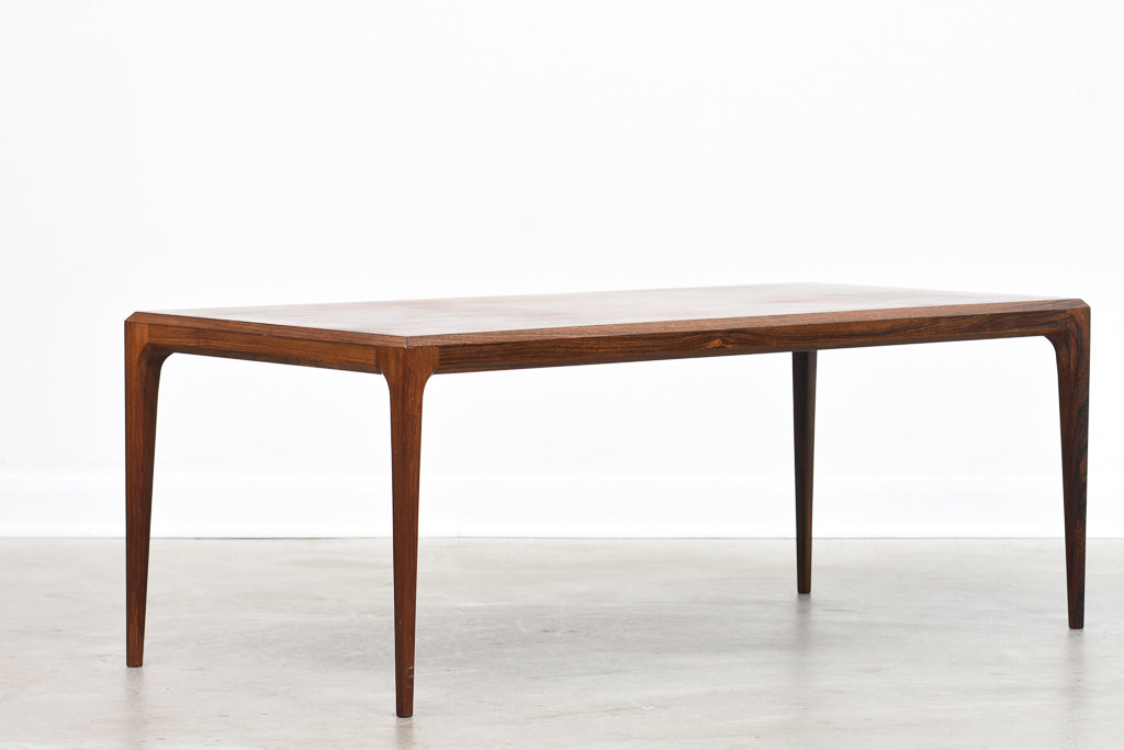 Rosewood coffee table by Johannes Andersen