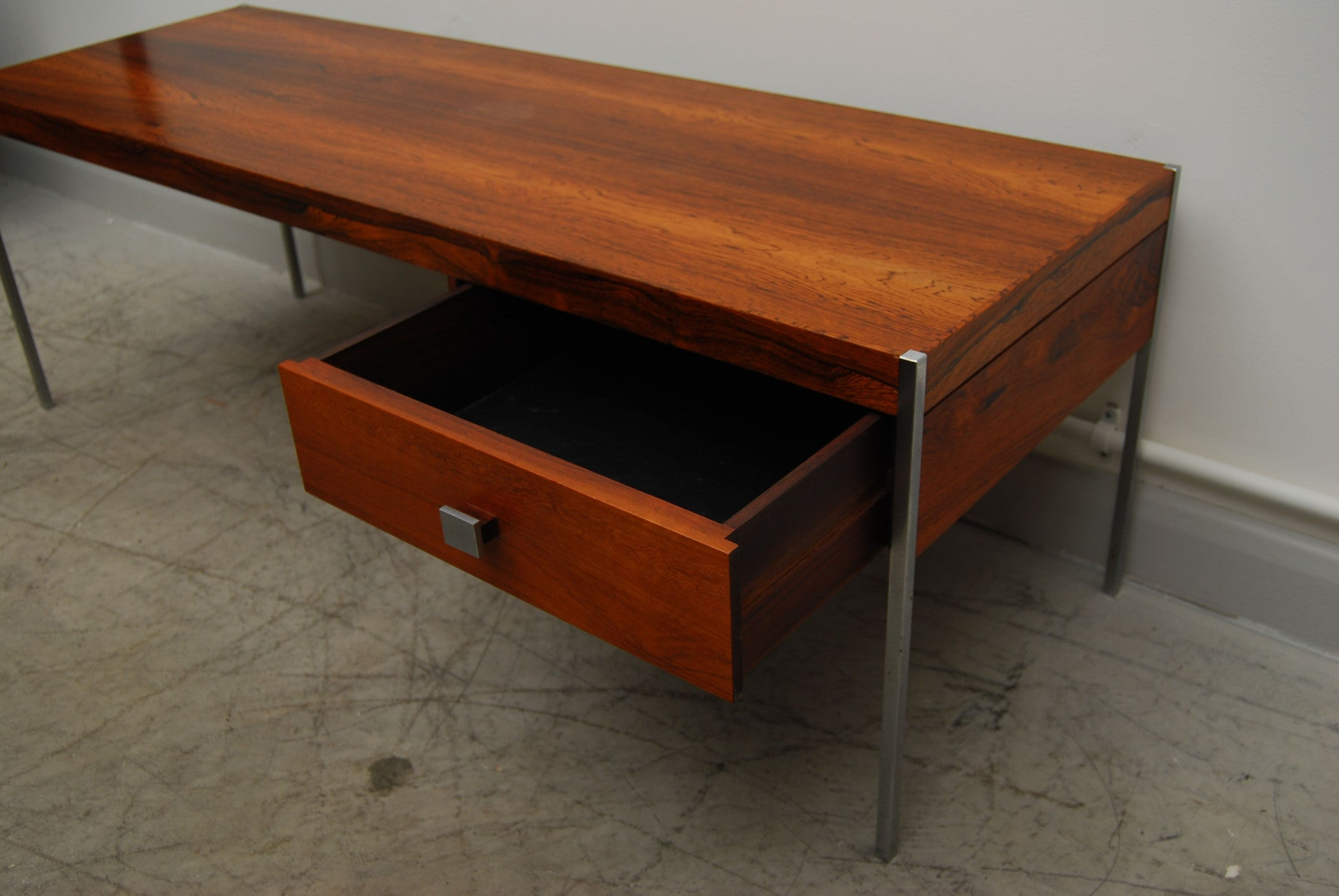Rosewood coffee table / TV table
