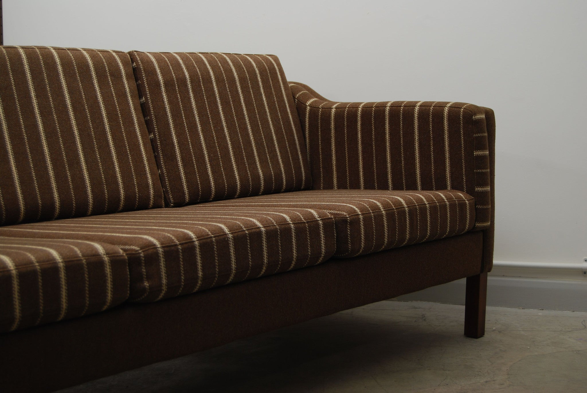 Three set wool sofa in style of Mogensen