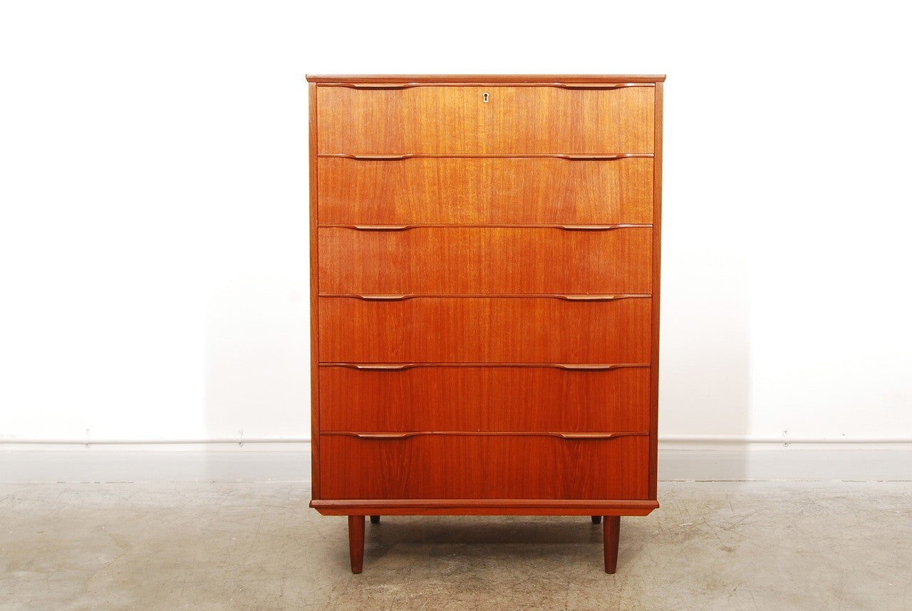 Tall chest of drawers