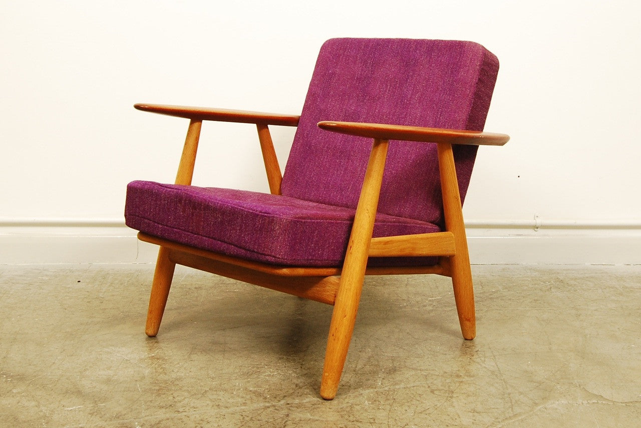 Pair of Cigar chairs by Hans Wegner