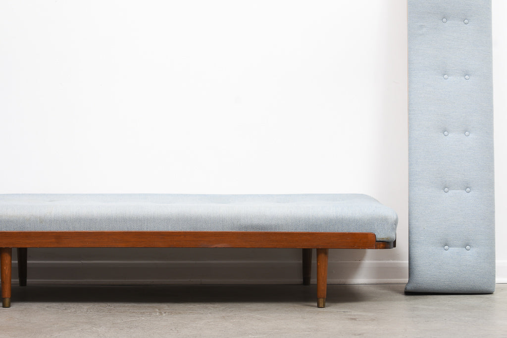 New upholstery included: 1950s Scandinavian daybed