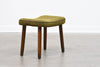 1950s Danish foot stool on beech legs