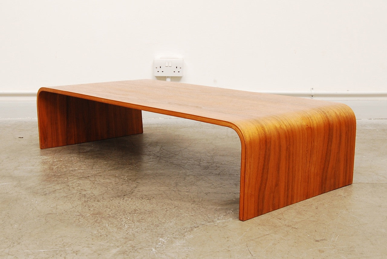 Teak ply coffee table
