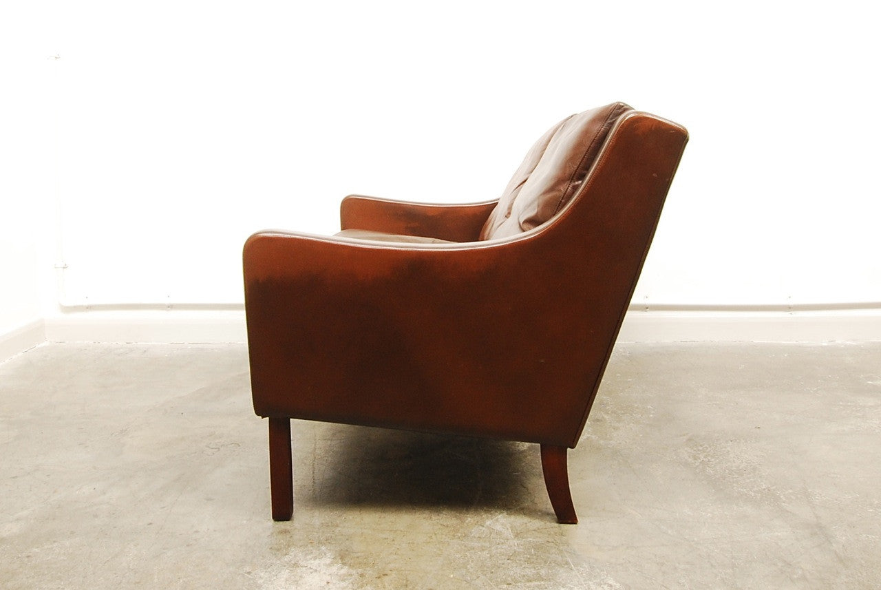 Two seat sofa by G Thams