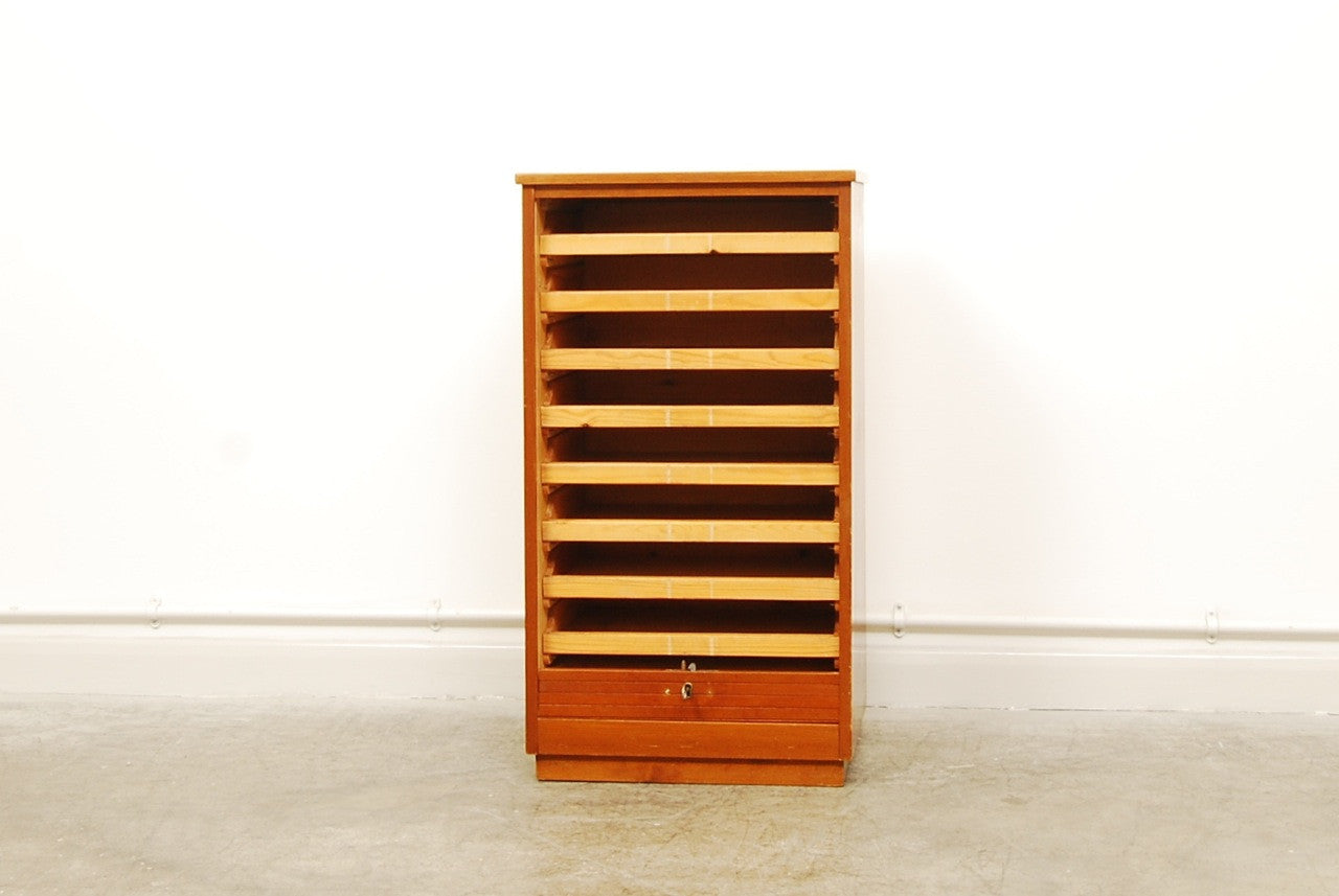 Generic Brand Beech filing cabinet