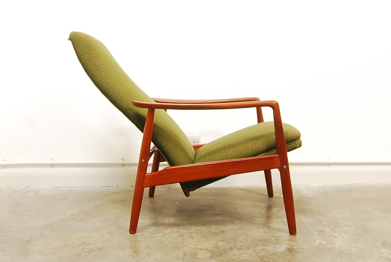 Reclining lounge chair by Søren Ladefoged