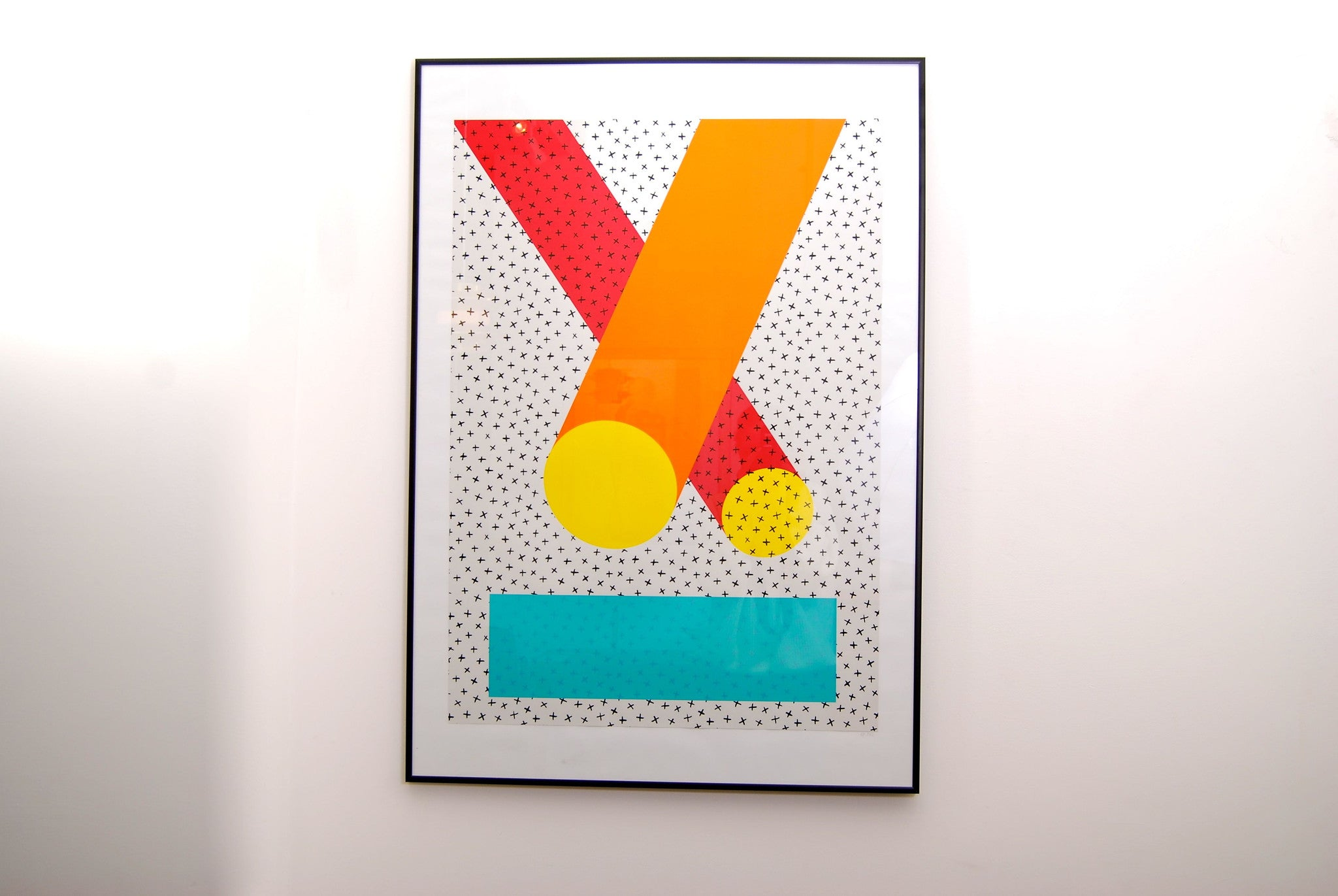 Screen print by Saskia Pomeroy